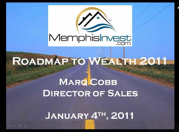Memphis Real Estate Cash Flow Webinar