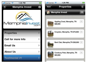 Memphis Invest Real Estate App