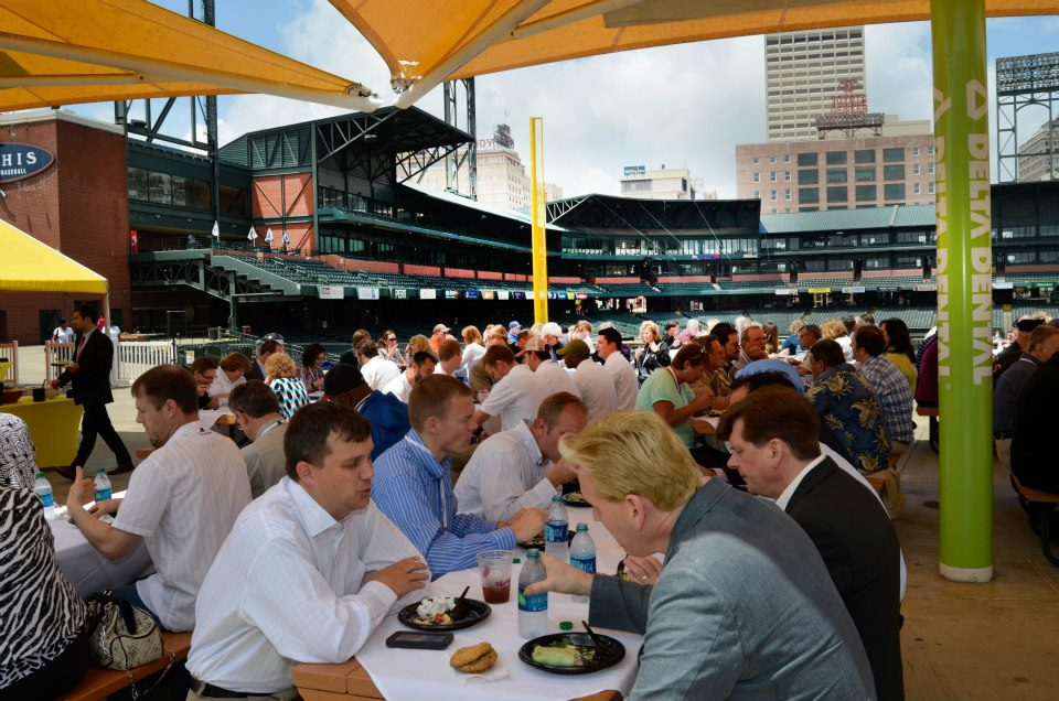 Lunch With Memphis Invest real estate event