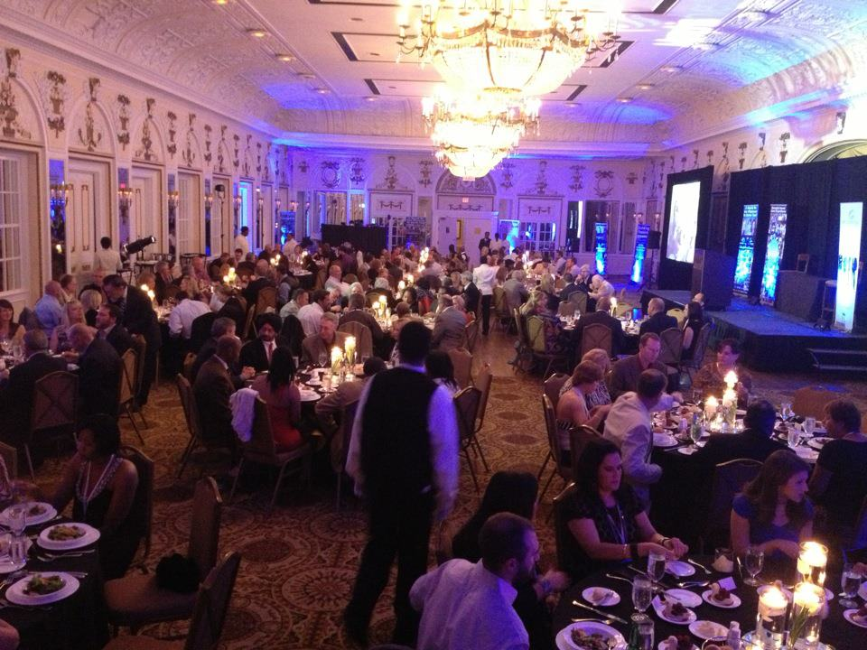 Dinner at Memphis Invest real estate event