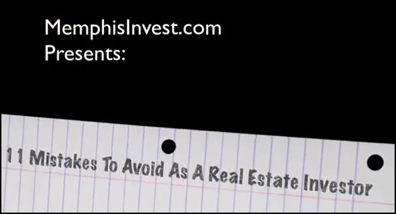 11 mistakes to Avoid when investing in real estate