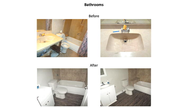 7650 Shelby Forest Cv. Bathrooms