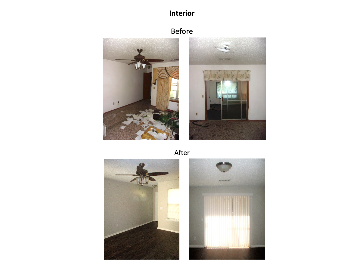 817 S. Scott St. - Interior