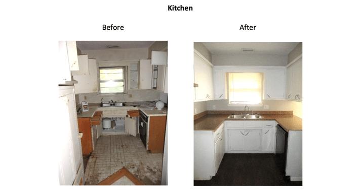 817 S. Scott St. - Kitchen