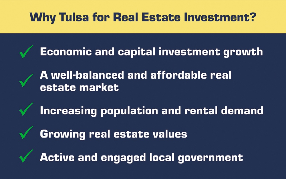 Why Tulsa for Real Estate Investment List